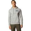 Mountain Hardwear Men's Berkeley 93 Pullover Hoody - Large - Heather Manta Grey