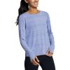 Eddie Bauer Motion Women's Trail Light Tie Back Shirt - XXL - Metal Blue