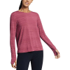 Eddie Bauer Motion Women's Trail Light Tie Back Shirt - Small - Claret