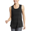 Eddie Bauer Motion Women's Trail Light Draped Back Tank - Medium - Black
