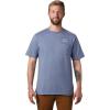 Mountain Hardwear Men's MHW/Marrow SS Pocket Tee - Large - Light Zinc