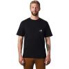Mountain Hardwear Men's Hotel Basecamp SS Pocket Tee - Large - Black