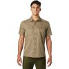 Mountain Hardwear Men's Canyon SS Shirt - Small - Ridgeline