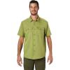 Mountain Hardwear Men's Canyon SS Shirt - Small - Just Green
