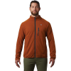 Mountain Hardwear Men's Norse Peak Full Zip Jacket - Small - Rust Earth