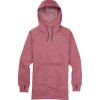 Burton Women's Oak Long Hoodie Pullover - Large - Rosebud Heather
