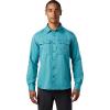 Mountain Hardwear Men's Canyon LS Shirt - XL - Vivid Teal