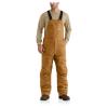 Carhartt Men's Flame Resistant Quick Duck Lined Bib Overall - 46x34 - Carhartt Brown