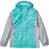 Marmot Girls' PreCip Eco Jacket - Medium - Ceramic Blue / Sleet