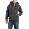 Carhartt Men's Rain Defender Paxton Heavyweight Hooded Zip Mock Sweats - 4XL Regular - Carbon Heather