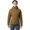 Mountain Hardwear Women's Super/DS Hooded Jacket - XS - Raw Clay