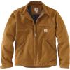 Carhartt Men's Duck Detroit Jacket - 3XL Tall - Carhartt Brown