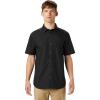 Mountain Hardwear Men's Conness Lakes SS Shirt - XL - Dark Storm Dot Print