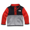 The North Face Infant Glacier 1/4 Snap Top - 18M - Fiery Red