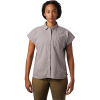 Mountain Hardwear Women's Camp Oasis SS Shirt - XS - Mystic Purple