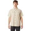 Mountain Hardwear Men's Crystal Valley SS Shirt - XXL - Lightlands