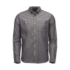Black Diamond Men's Solution LS Shirt - Medium - Black / Ash