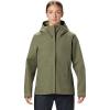Mountain Hardwear Women's Exposure/2 GTX Paclite Jacket - XL - Light Army