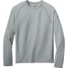 Smartwool Men's Merino 150 Baselayer LS Pattern Top - XL - Light Gray