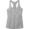 Smartwool Women's Merino 150 Baselayer Print Tank - XL - Dark Pebble Grey