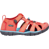 Keen Youth Seacamp II CNX Sandal - 4 - Coral / Poppy Red
