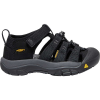Keen Kids' Newport H2 Shoe - 8 - Black / Keen Yellow