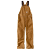 Carhartt Youth Duck Bib Overall - 12 - Carharrt Brown