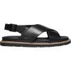 Keen Women's Lana Cross Strap Sandal - 6.5 - Black / Black