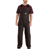 Carhartt Men's Quilt-Lined Washed Duck Bib Overall