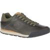 Merrell Men's Burnt Rock Leather Shoe - 15 - Dusty Olive