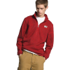 The North Face Men's Gordon Lyons 1/4 Zip Top - Small - Pompeian Red Heather