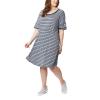 Columbia Women's Slack Water Knit Dress - Large - Collegiate Navy Stripe