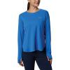 Columbia Women's PFG Zero LS Shirt - XS - Stormy Blue