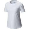 Columbia Women's PFG Zero II SS Shirt - Large - White