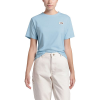 The North Face Women's Recycled Materials SS Tee - XS - Angel Falls Blue Heather