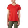 Columbia Women's Irico Knit SS Shirt - Small - Bold Orange