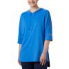 Columbia Women's Freezer Cover Up Top - Medium - Stormy Blue