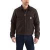 Carhartt Men's Duck Detroit Jacket - 5XL Regular - Dark Brown