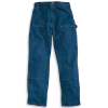 Carhartt Men's Original Fit Double Front Washed Logger Jean - 28x30 - Darkstone