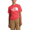 The North Face Women's Half Dome Cotton SS Tee - Large - Cayenne Red