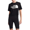 The North Face Women's Half Dome Cotton SS Tee - Medium - TNF Black