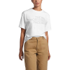 The North Face Women's Half Dome Tri-Blend SS Tee - XL - TNF White Heather