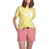 The North Face Women's Half Dome Cotton SS Tee - Large - Stinger Yellow