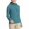 Eddie Bauer Women's Backbone Grid Goodie - Large - Reef