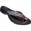 Keen Women's Waimea H2 Slide - 7 - Black Multi / Coral