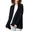 Columbia Women's Slack Water Knit Cover Up Wrap - XS - Black