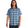 Marmot Men's Lykken SS Shirt - Large - Varsity Blue