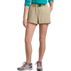 The North Face Women's Class V Hike 6 Inch Short - Medium - Twill Beige