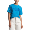 The North Face Women's Half Dome Tri-Blend SS Tee - Small - Clear Lake Blue Heather