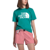 The North Face Women's Half Dome Cotton SS Tee - Medium - Jaiden Green